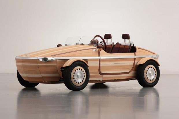 Tamamen tahtadan yapılan Toyota Setsuna konsept - Page 1