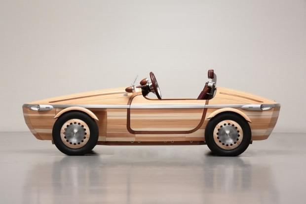 Tamamen tahtadan yapılan Toyota Setsuna konsept - Page 2