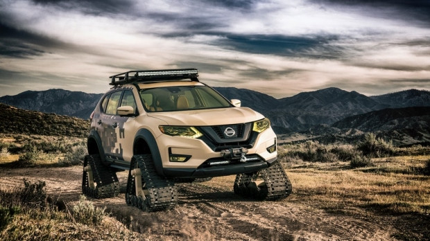 Tanktan farkı yok Nissan Rogue Trail Warrior - Page 1