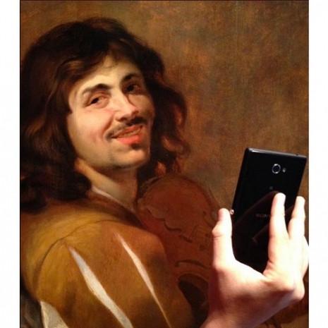 Tarihi portrelere selfie muamelesi! - Page 1