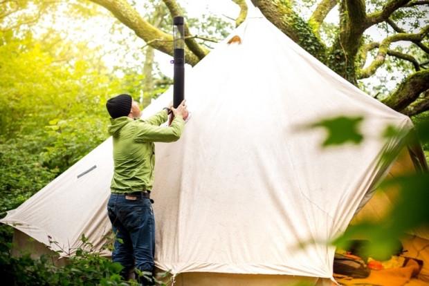 Taşınabilir odun sobası kamp severlere özel - Page 1