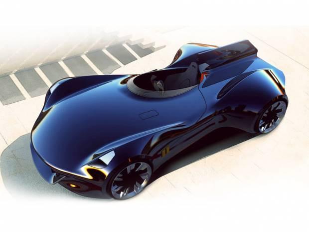 Tek kişilik araç olma özelliği ile Jaguar XK-1 - Page 3
