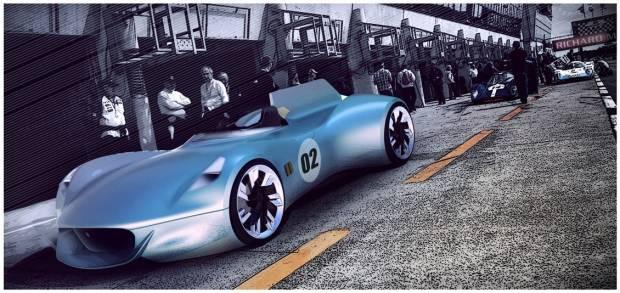 Tek kişilik araç olma özelliği ile Jaguar XK-1 - Page 4