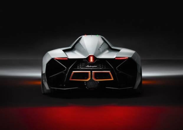 Tek kişilik canavar Lamborghini Egoista - Page 1