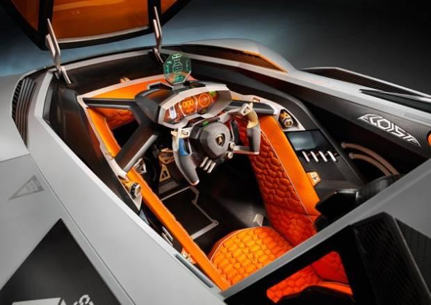 Tek kişilik canavar Lamborghini Egoista - Page 2
