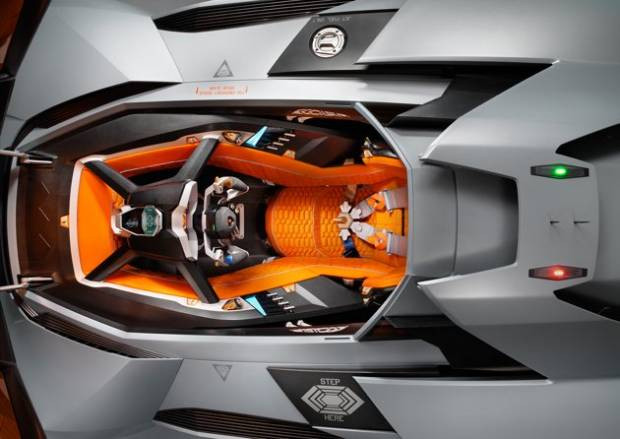 Tek kişilik canavar Lamborghini Egoista - Page 4