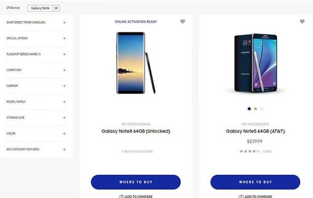 Teknoloji devi, yanlışlıkla Galaxy Note 8'i tanıttı - Page 1