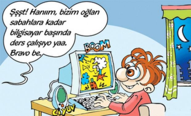 Teknoloji ile ilgili karikatürler - Page 1