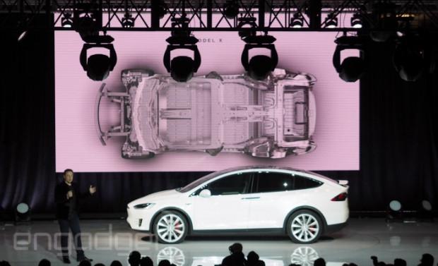 Tesla Model X tanıtımından kareler - Page 1