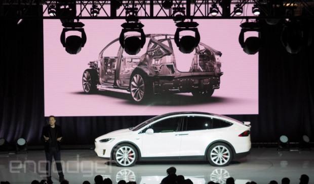 Tesla Model X tanıtımından kareler - Page 2