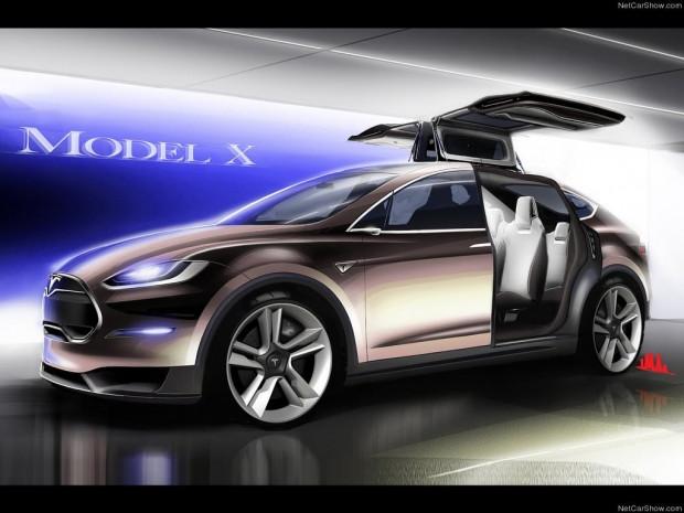 Tesla'nın yeni otomobili Model X - Page 1