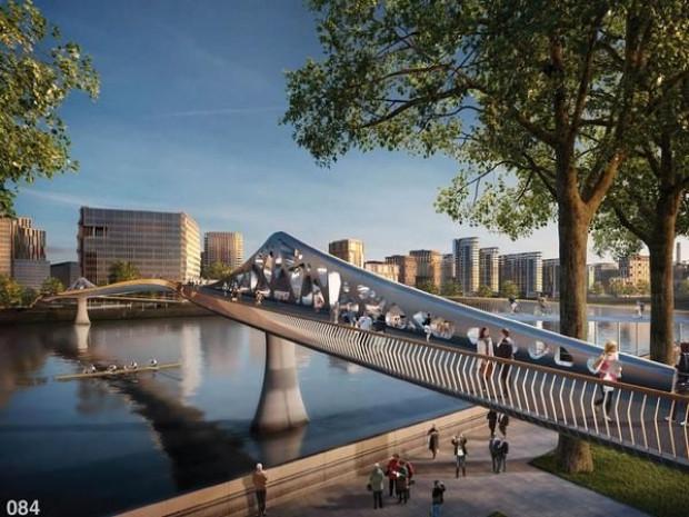 Thames Nehri üzerine çılgın köprü - Page 2