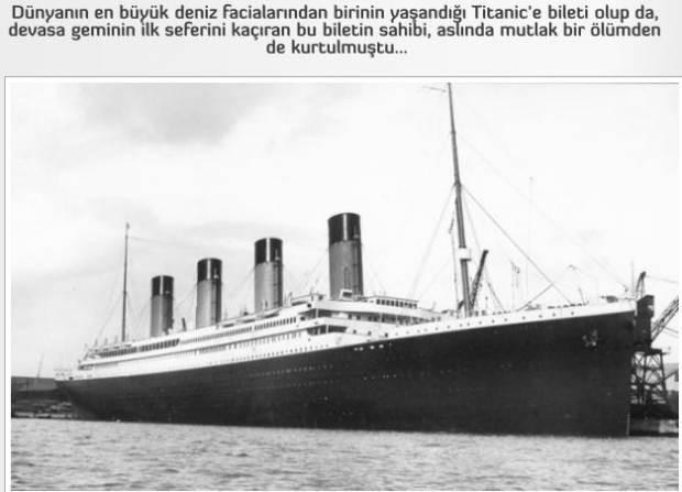 Titanic'in orjinal resimleriyle hikayesi! - Page 2