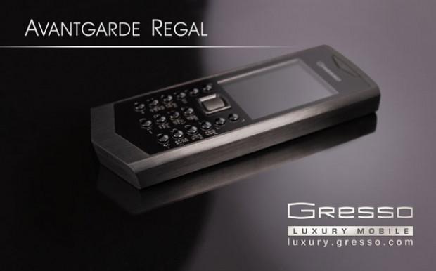 Titanyumdan üretilen en lüks telefon Gresso Meridian - Page 1