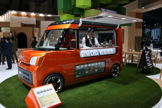 Tokyo Motor Show'un çılgın ve tuhaf arabaları - Page 2