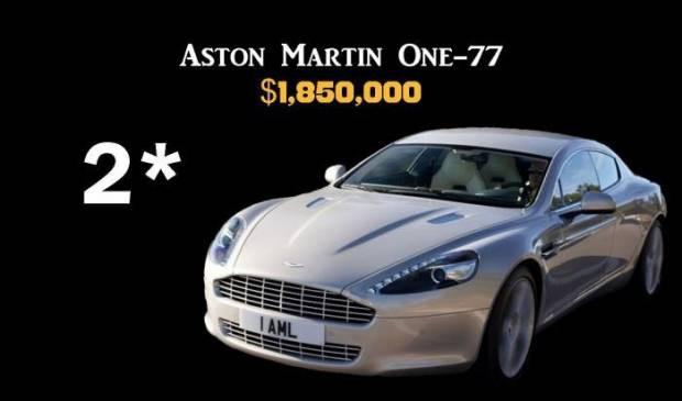 İşte en pahalı 10 araba - Page 2