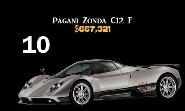 İşte en pahalı 10 araba - Page 3