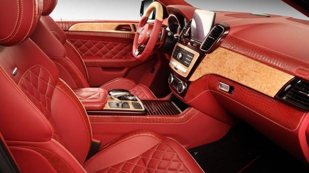 TopCar Mercedes-Benz GLE Coupe kırmızı timsah derisiyle kapladı - Page 1