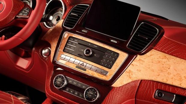 TopCar Mercedes-Benz GLE Coupe kırmızı timsah derisiyle kapladı - Page 3