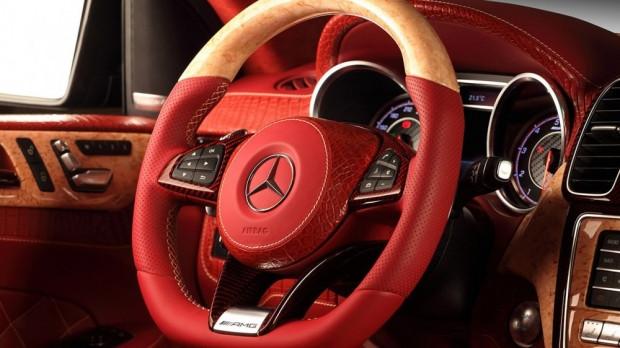 TopCar Mercedes-Benz GLE Coupe kırmızı timsah derisiyle kapladı - Page 4