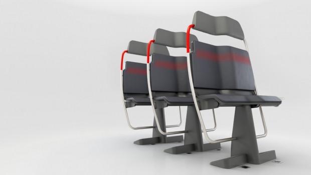 Toplu taşıma için yapılan yeni koltuk tasarımları - Page 1