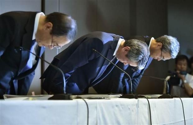 Toshiba CEO'sunun istifa ettiği o an! - Page 1