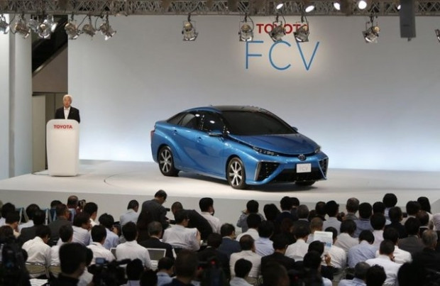 Toyota yeni yakıt hücreli prototip aracı FCV - Page 3