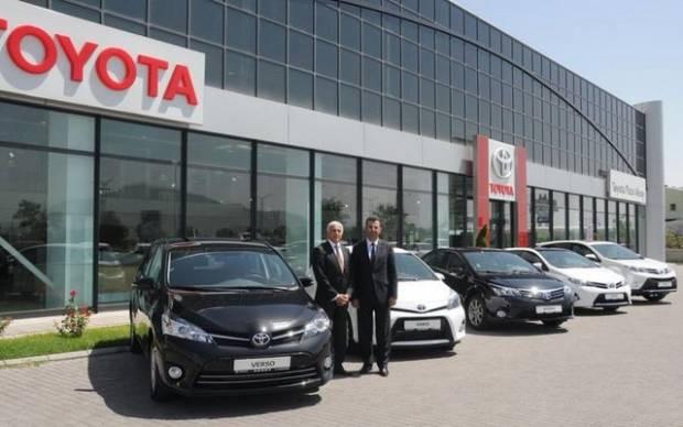 Toyota yepyeni modellerini tanıttı! - Page 1