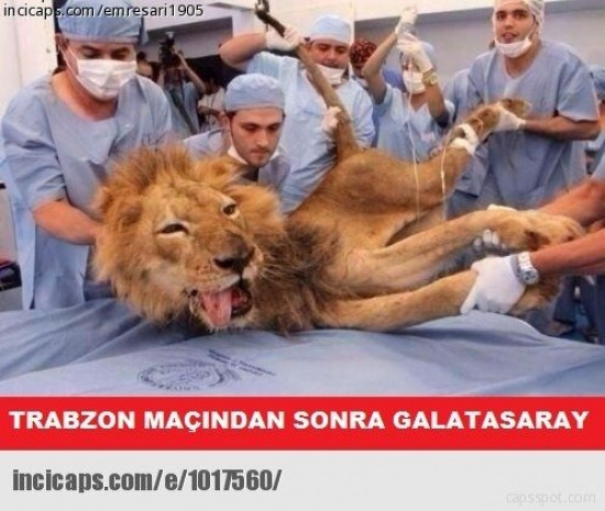 Trabzonspor-Galatasaray maçının komik caps'leri - Page 4