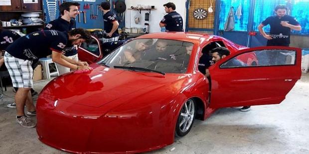 Trakyalı öğrencilerin elektrikli otomobili ödül aldı - Page 2