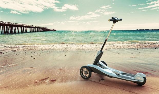 Transboard katlanır e-scooter - Page 1