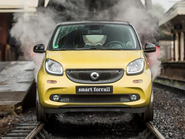 Tren raylarında gidebilen otomobil ''Forrail'' - Page 1