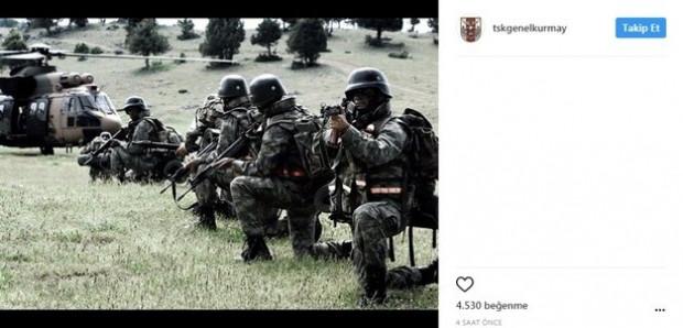 TSK, sosyal paylaşım sitesi Instagram'da hesap açtı - Page 1