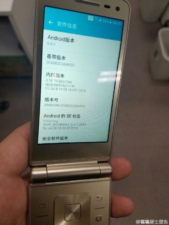 Tüm açılardan Samsung Galaxy Folder 2 - Page 2
