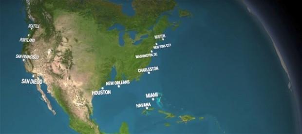 Tüm buzullar eridiğinde yeni dünya haritası nasıl olacak? - Page 1
