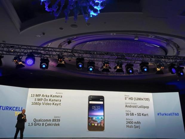 Turkcell'in en gelişmiş telefonu 'Turkcell T60' - Page 3