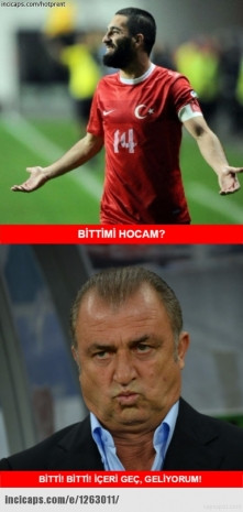 Türkiye, Hırvatistan maçına isyan caps'leri - Page 1