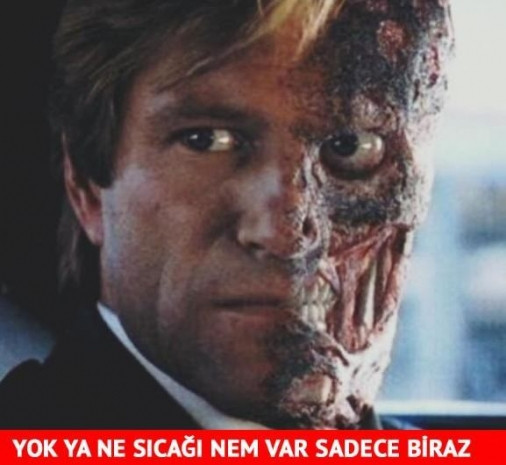 Türkiye kavrulurken capsler patladı - Page 1