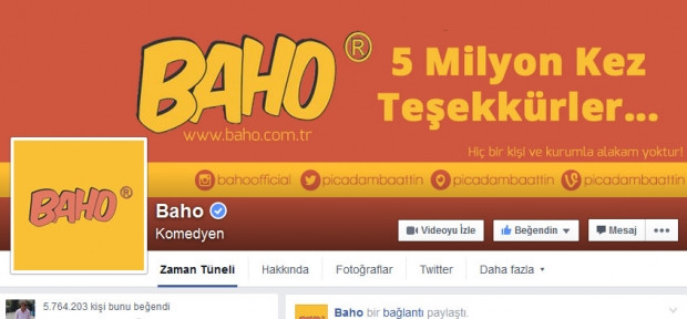 Türkiye'de en fazla beğeniye sahip 10 Facebook sayfası - Page 2
