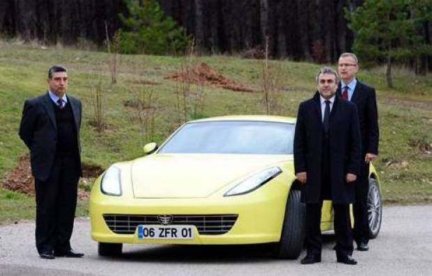 Türkiye'nin ilk elektrikli spor otomobili - Page 2