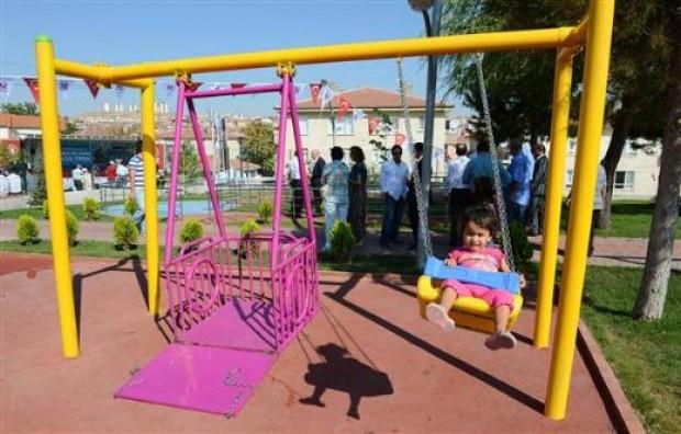 Türkiyenin ilk engelli parkı açıldı - Page 2