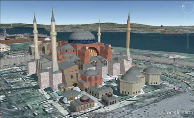 Türkiye'nin tarih ve kültür mirasları 3 boyutlu olarak Google Earth'te - Page 1