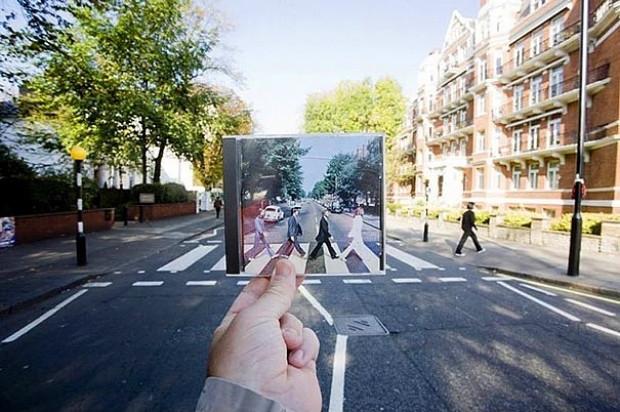 Tuttuğu objelerle manzaraları optik illüzyonlar yaratarak tamamlayan adamdan 23 eşsiz fotoğraf - Page 2