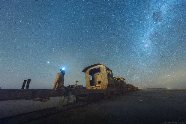 Tuz arazileri üzerinden çekilen, galaksinin mükemmel fotoğrafları - Page 1
