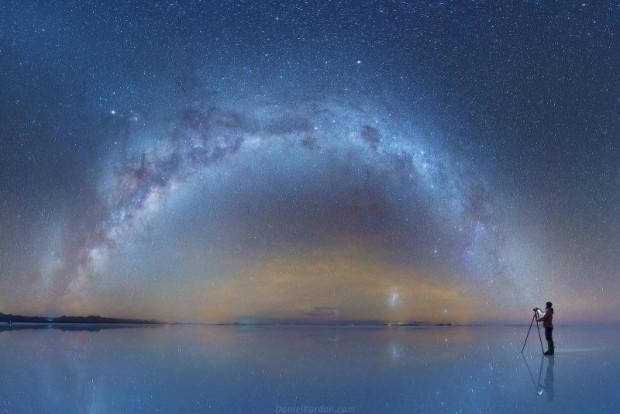 Tuz arazileri üzerinden çekilen, galaksinin mükemmel fotoğrafları - Page 4