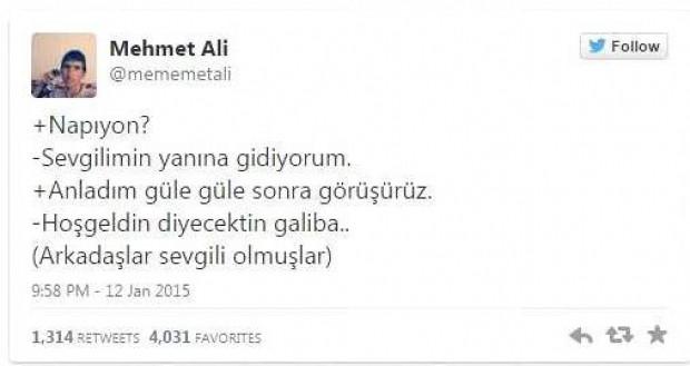 Twitter'ın yeni fenomeni 'Mehmet Ali' - Page 1