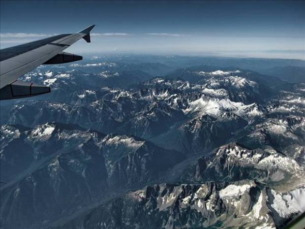 Uçak penceresinden çekilmiş harika resimler - Page 2