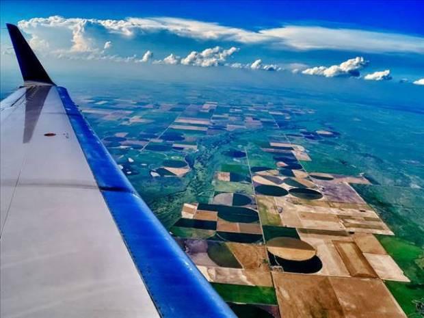 Uçak penceresinden çekilmiş harika resimler - Page 4