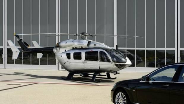 Uçan Mercedes Eurocopter! - Page 1