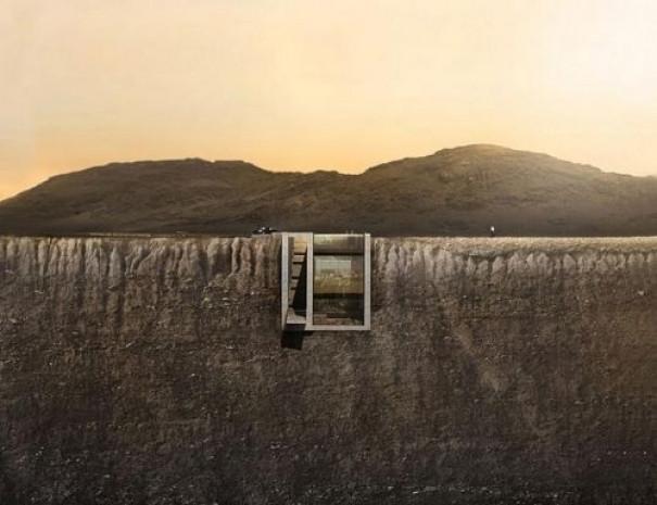 Uçurumun içine gömülen ev 'Casa Brutale' - Page 3